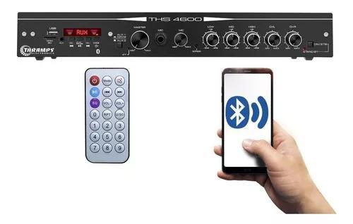 Amplificador receiver residencial taramps ths-4600 250w rms