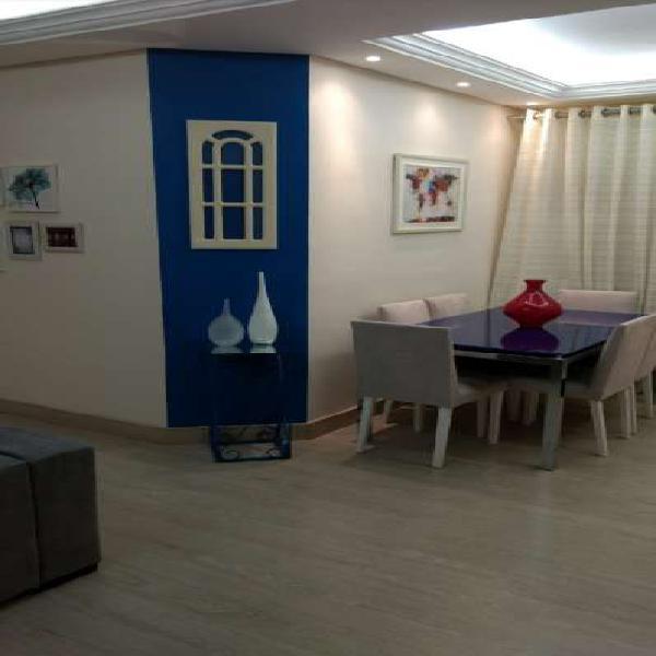 Apartamento novo 89 m², maravilhoso com teto rebaixado