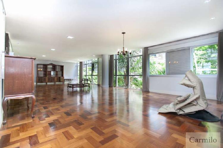 Apartamento para aluguel e venda tem 230 metros quadrados