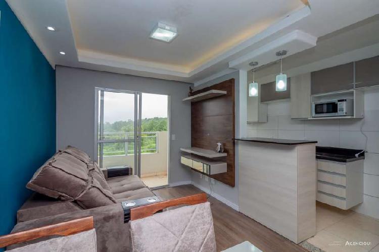 Apartamento à venda de 2 dormitórios com suíte e vaga