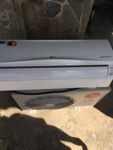 Ar condicionado inverter +instalação + 1 ano de garantia