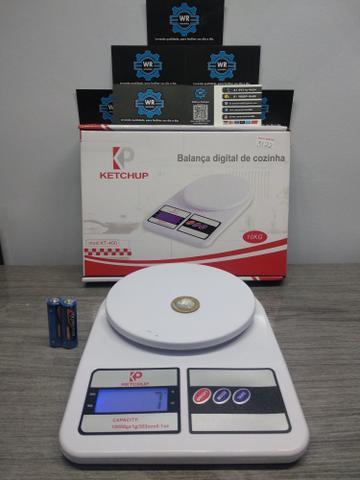 Balança digital de 1g a 10kg + brinde e entrega grátis