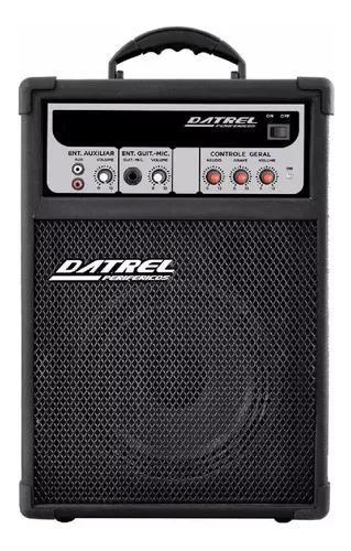 Caixa caixa de som amplificada microfone/guitarra potente