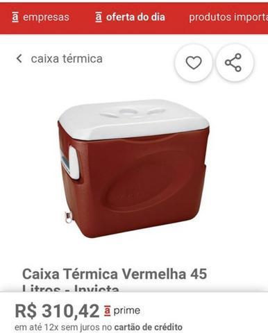 Caixa térmica 45 litros nova