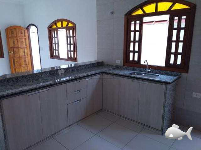 Casa com 3 dorm lado praia, itanhaém - r$ 230 mil, cod: 717
