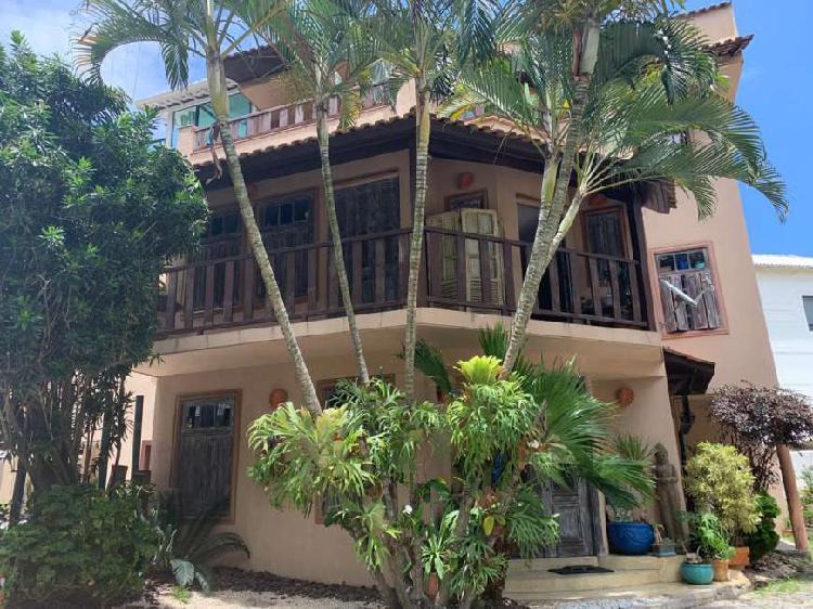 Casa de condomínio para venda com 3 quartos na praia da