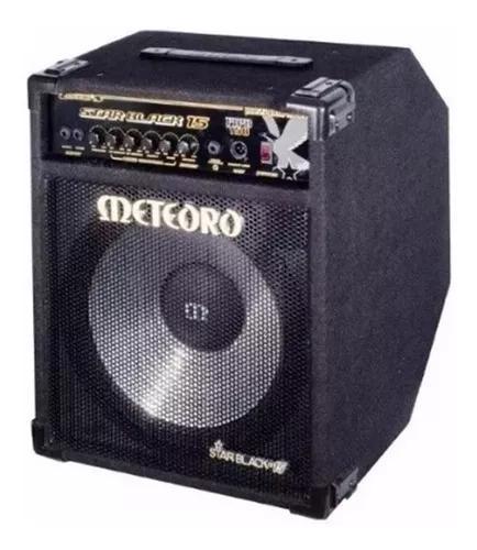 Cubo amplificador para baixo meteoro star black 12 130w rms