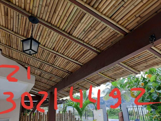 Forro teto bambu angra reis 2130214492 buzios