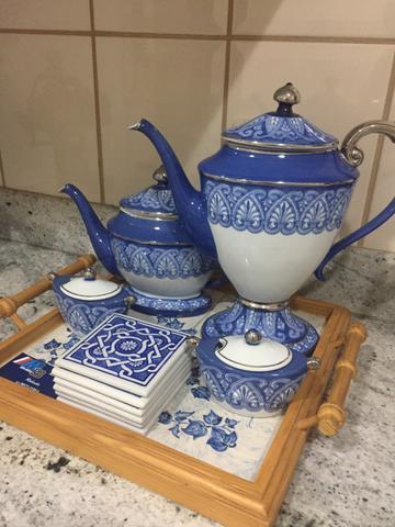 Jogo de porcelana chinesa