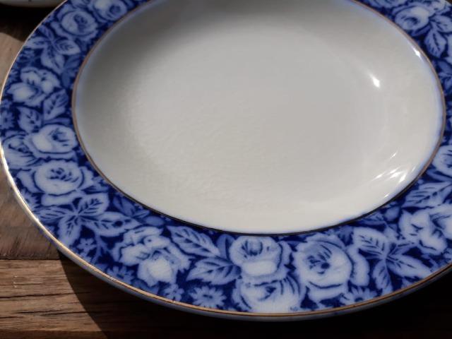 Jogo de porcelana inglesa w.h. grindley & co beauty roses -