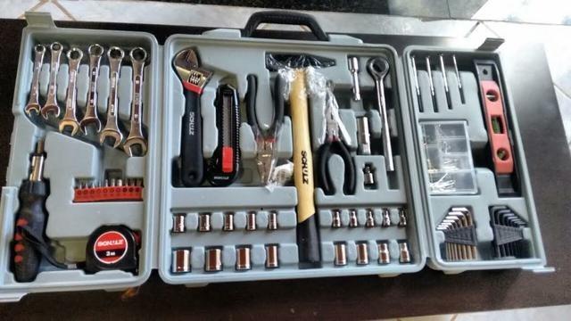 Kit de ferramentas manuais hobby com 160 peças