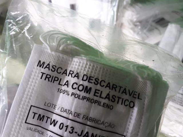 Mascara tripla proteção