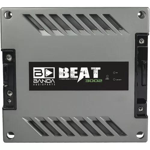 Módulo amplificador banda beat 3002 2 ohms 3000wrms 1 canal