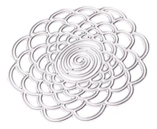 Metal flor corte dies scrapbook álbum papel