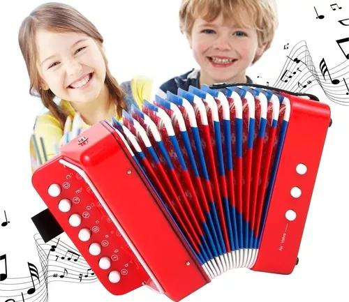Mini acordeon infantil sanfona gaita - shinyt music 000182