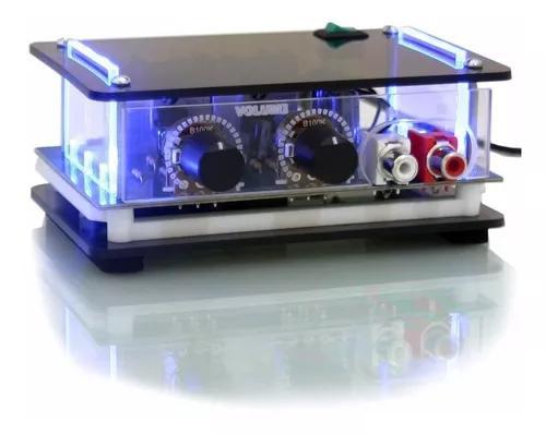 Mini amplificador potencia módulo caixa som pc note