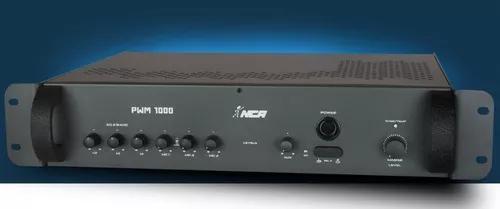 Mixer amplificador potência nca pwm1000 250w 4ohms