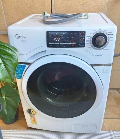 Máquina de lavar e secar conservada entrego