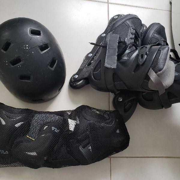 Patins roller masculino oxelo