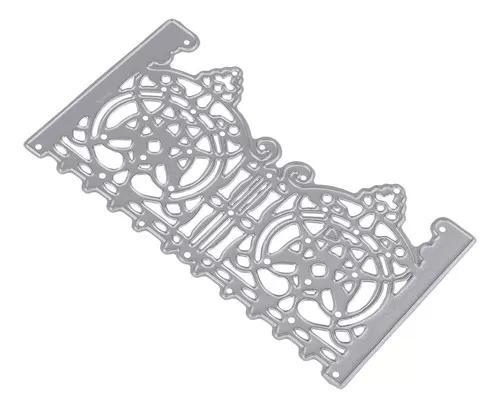 Porta morre stencils de corte metal para cartões de papel