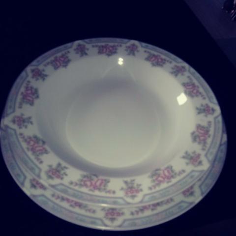 Raridade!!! conjunto em porcelana schimidt - antigo