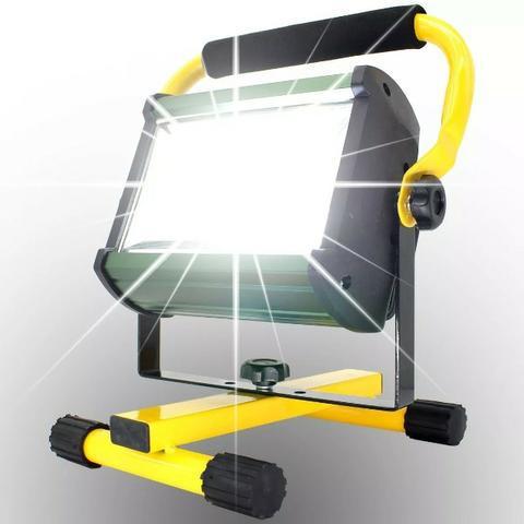 Refletor portátil recarregável vonder 120 watts com 100