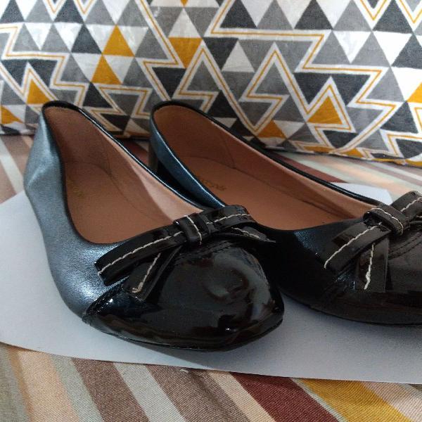 Sapatilha preta sonho dos pés