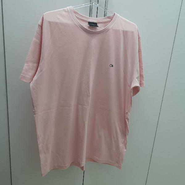 Blusa de malha masculina rosa ogochi