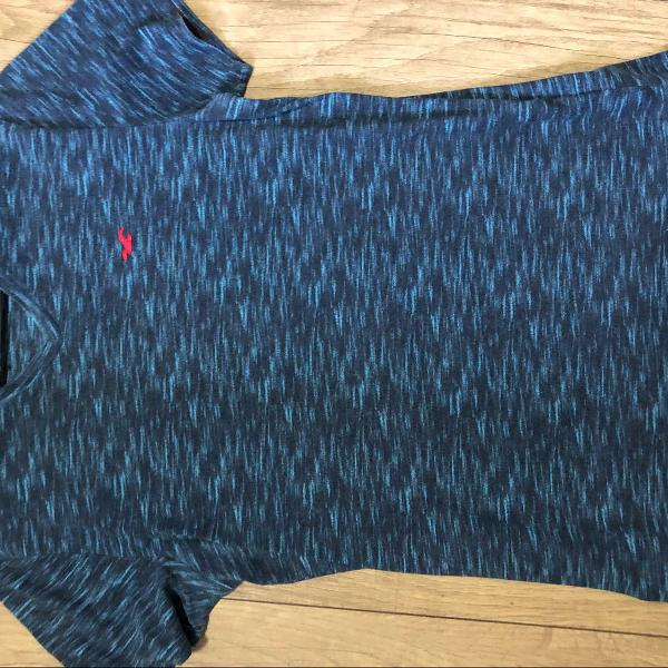 Camiseta azul hollister