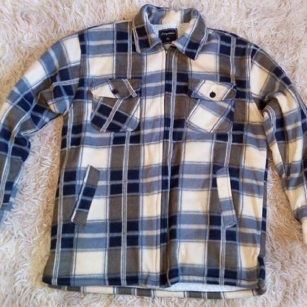 Jaqueta lã xadrez