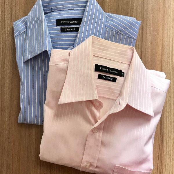Kit de camisas sociais- riscas