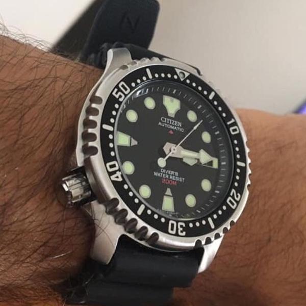 Relógio citizen promaster ny0040 automático 42mm