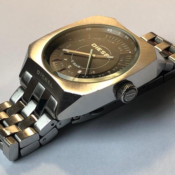 Relógio diesel pulseira de aço
