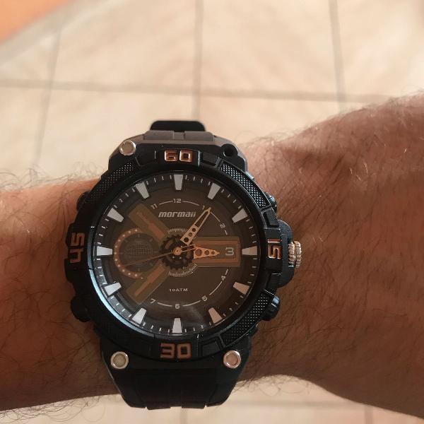 Relógio masculino mormai moy120aa/8j