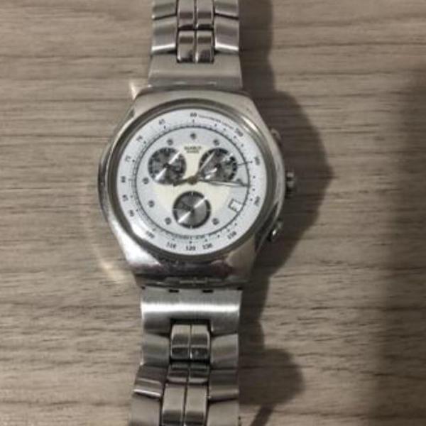 Relógio swatch masculino analógico