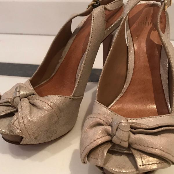 Sandália meia pata schutz