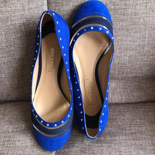 Sapatilha arezzo azul