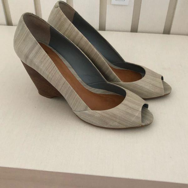 Sapato schutz azul claro