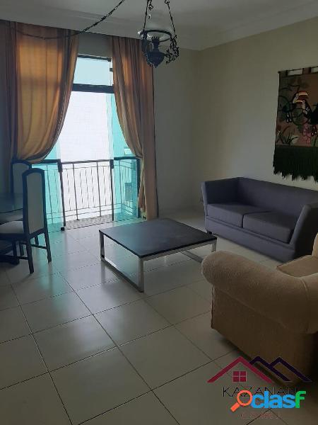 Apartamento 2 dormitórios - vista mar - boqueirão santos