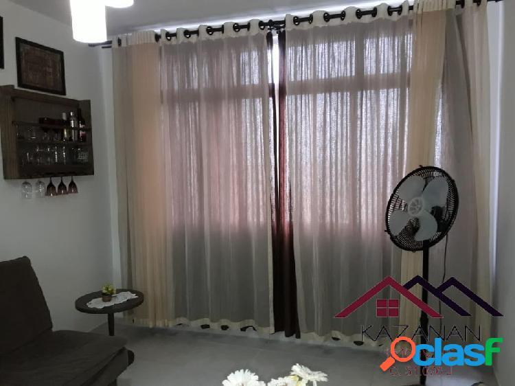 1 dormitório mobiliado - vistar mar - santos - bairro- josé menino