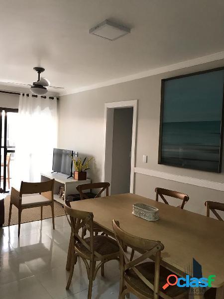 Apartamento mobiliado praia grande área nobre uma quadra da praia