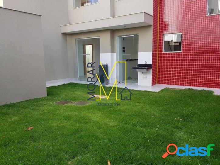 Área privativa com 2 dormitórios à venda - santa branca - belo horizonte/mg