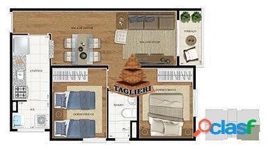 Apartamento 2 dormitórios pronto para morar (metrô carrão)