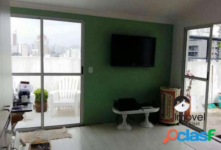 Cobertura duplex: 158m², 3 vagas e 4 dormitórios - perdizes