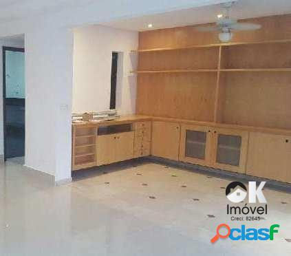 Apartamento: 122m², 3 dormitórios e 1 vaga – higienópolis