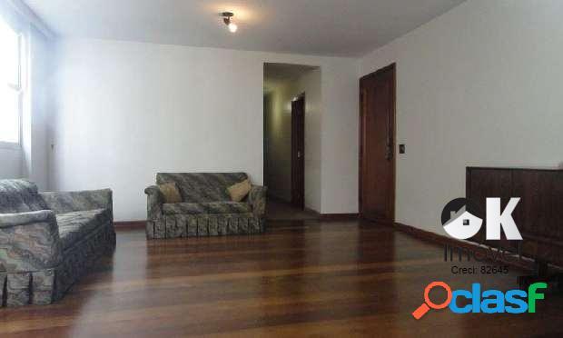 Apartamento: 135m², 3 dormitórios e 1 vaga – higienópolis