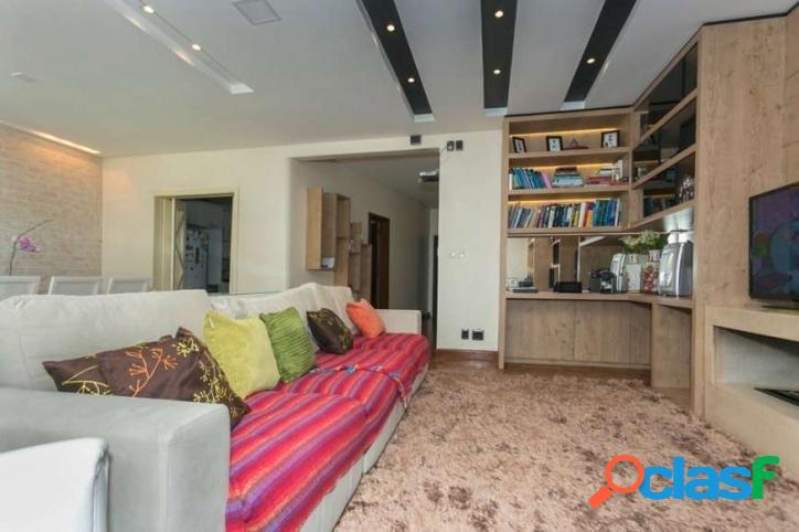 Apartamento: 182m², 3 dormitórios e 1 vaga – higienópolis