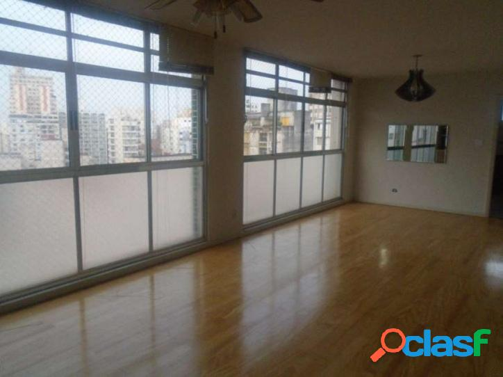 Apartamento: 123m², 3 dormitórios e 1 vaga – higienópolis