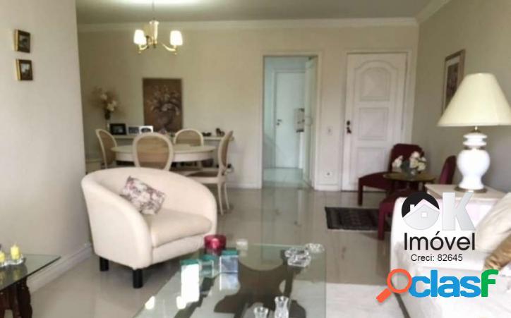 Apartamento: 133m², 3 dormitórios e 1 vaga - higienópolis