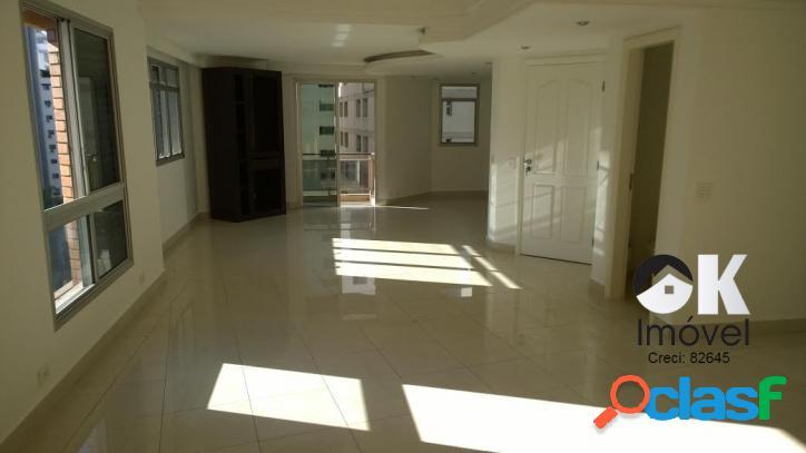 Apartamento: 195m², 2 quartos e 3 vagas – higienópolis